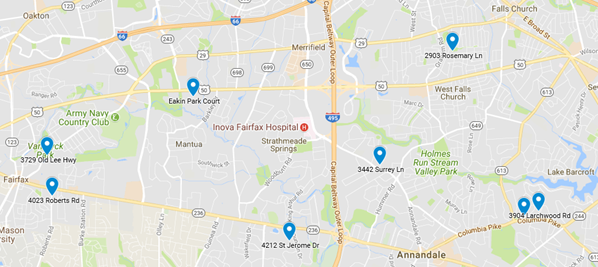 Google Map Garden Tour 2018
