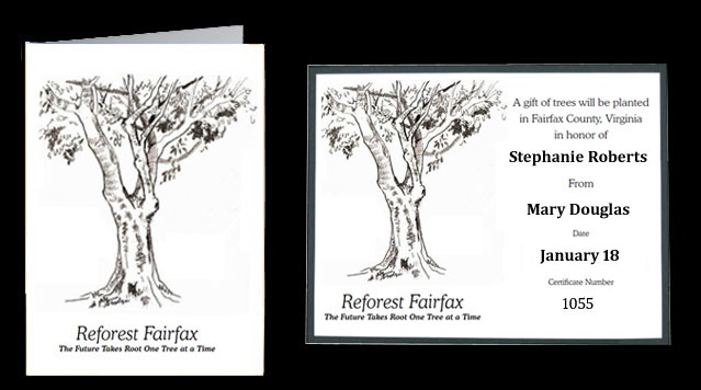 Reforest Fairfax Gift Card