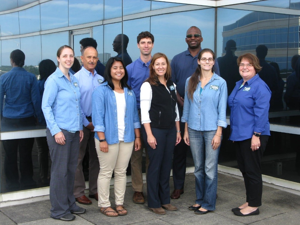 8 member staff of Northern Virginia Soil and Water Conservation District