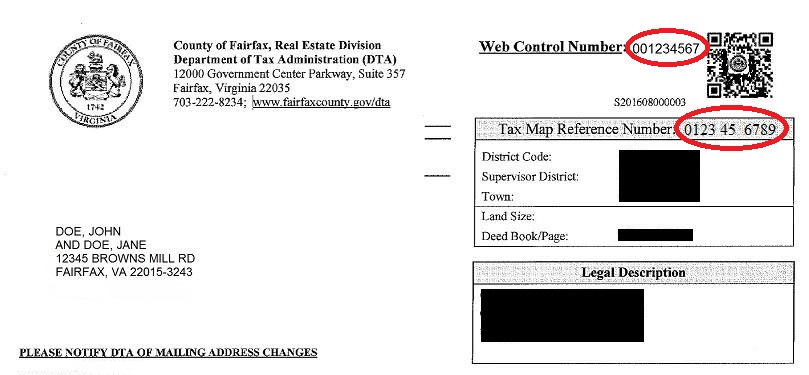 Fairfax County Personal Property Tax >> Real Estate Tax - Frequently Asked Questions | Tax Administration