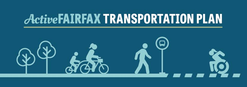 Active Fairfax Transportation Plan graphic