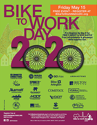 Bike to Work Day 2020 Poster