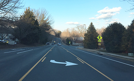 Colts Neck Road Restriping