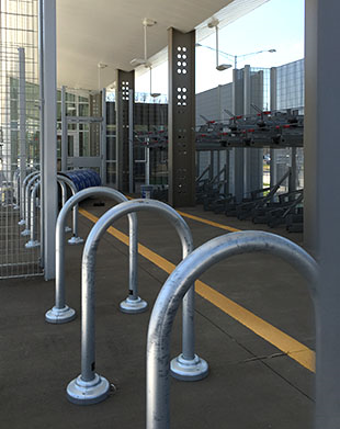 Stringfellow Park and Ride Bike Room