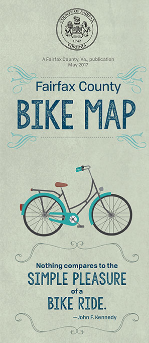 Fairfax county bicycle map transportation biking to work or school or enjoying your local park on two wheels the fairfax county bike map can help you find the best and most enjoyable route to your sciox Gallery