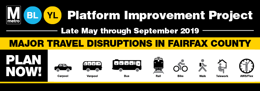 Metrorail Platforms Reconstruction Project Travel Alternatives