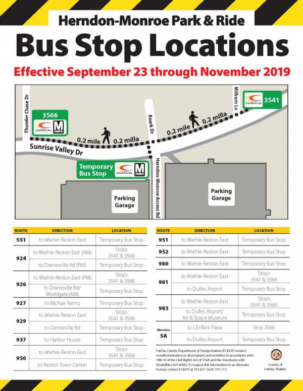 Herndon Bus Routes